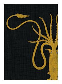 Игра Престолов. Протекторы (50 шт., 63.5x88 мм): House Greyjoy