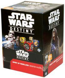 Star Wars Destiny: Spirit of Rebellion - дисплей бустеров на английском языке