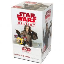 Star Wars Destiny: Way of the Force Booster Packs - дисплей бустеров на английском языке