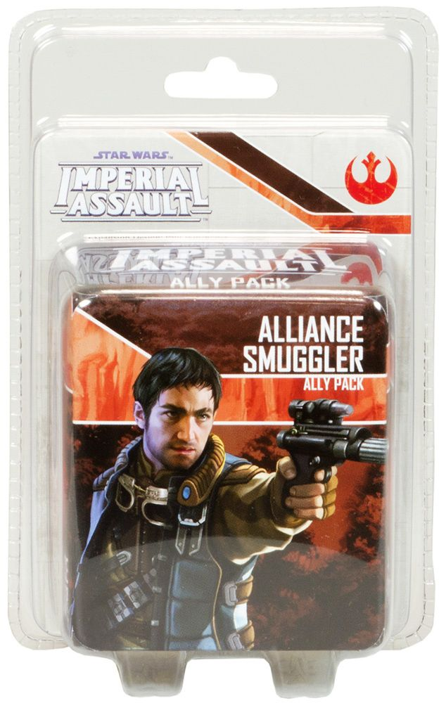 Купить Star Wars: Imperial Assault - Alliance Smuggler Ally Pack, Настольная игра Fantasy Flight Games