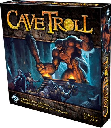 Купить Cave Troll: Second Edition, Настольная игра Fantasy Flight Games