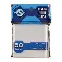 Протекторы FFG (50 шт., 70x70 мм): квадратные прозрачные