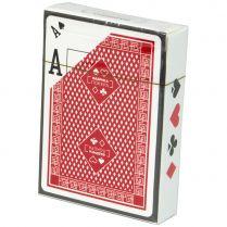 Карты для покера (пластиковые, с двойным индексом)