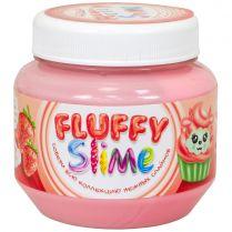 Fluffy Slime: Клубника (розовый), 250 мл