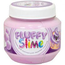 Fluffy Slime: Баблгам (фиолетовый), 250 мл