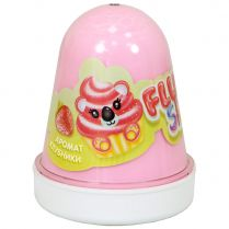 Fluffy Slime: Клубника (светло-розовый)