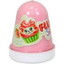 Fluffy Slime: Клубника (розовый)