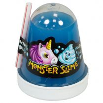 Monster Slime. Нежный зефир: синий