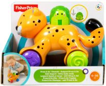 Fisher Price. Press adn Go Леопард