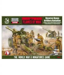 Flames of war: 152 mm Heavy Artillery Battalion (SBX10)