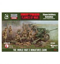 Flames of war: 76 mm Artillery Batalion (SBX11)