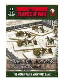 Flames of war: 7.5 cm PaK Platoon (winter) (GBX73)