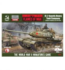 Flames of war: IS-2 Guards Heavy Tank Company (SBX08)