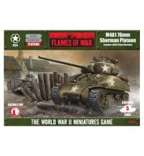 Flames of war: M4A1 (76) Platoon (UBX05)