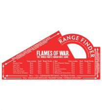Flames of war: Red Rangefinder (Metric)