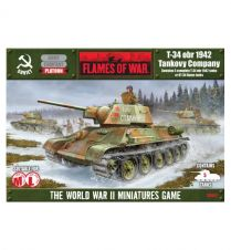 Flames of war: T-34 obr 1942 Company (SBX01)