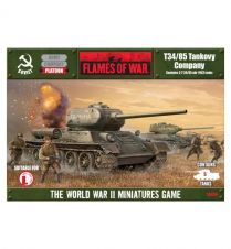 Flames of war: T-34/85 obr 1943 company (SBX06)