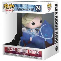 Фигурка Funko POP! Frozen 2: Elsa Riding Nokk