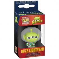 Брелок Funko POP! Pocket Keychain. Alien Remix. Toy Story: Buzz Lightyear