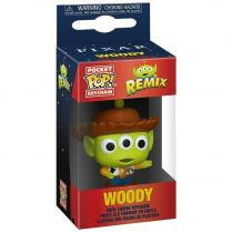 Брелок Funko POP! Pocket Keychain. Alien Remix. Toy Story: Woody