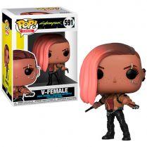 Фигурка Funko POP! Games. Cyberpunk 2077: V-Female