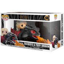 Фигурка Funko POP! Game of Thrones: Daenerys and Fiery Drogon