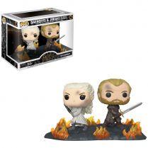Фигурка Funko POP! Game of Thrones. Movie Moments: Daenerys and Jorah at the Battle of Winterfell