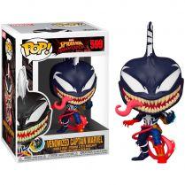 Фигурка Funco POP! Spider-Man. Maximum Venom: Venomized Captain Marvel