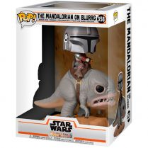 Фигурка Funko POP! Star Wars. The Mandalorian: The Mandalorian on Blurrg