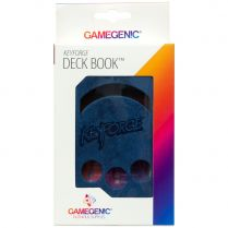 Коробочка Gamegenic KeyForge Deck Book: Blue