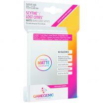 Протекторы Gamegenic Matte для Scythe или Lost Cities прозрачные (60 шт., 72x112 мм)