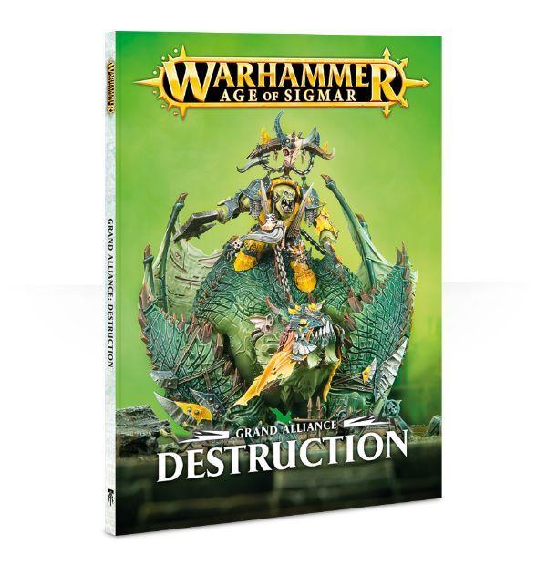 Купить Grand Alliance: Destruction, Настольная игра Games Workshop