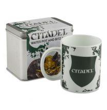 Caliban Green Water Pot and Bitz Box
