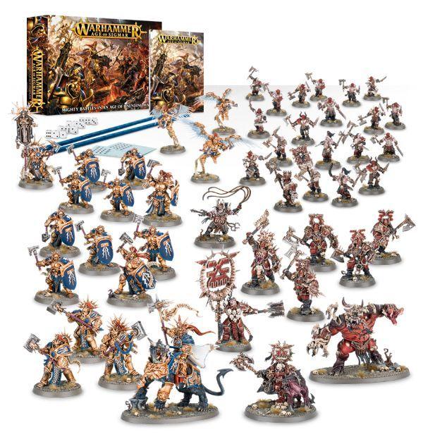 Купить Warhammer Age of Sigmar Starter Set, Настольная игра Games Workshop