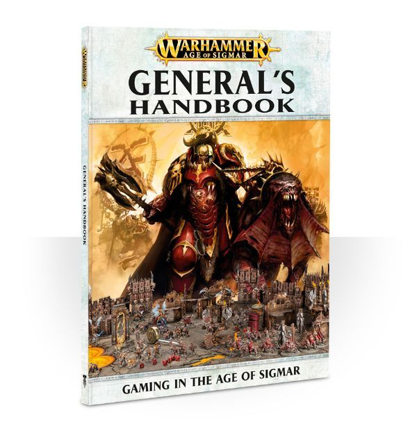 Купить Age of Sigmar: General's Handbook (eng), Настольная игра Games Workshop