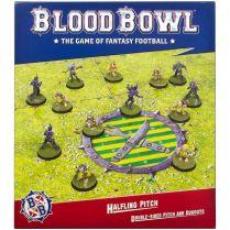 Blood Bowl: Halfling Team Pitch & Dugouts