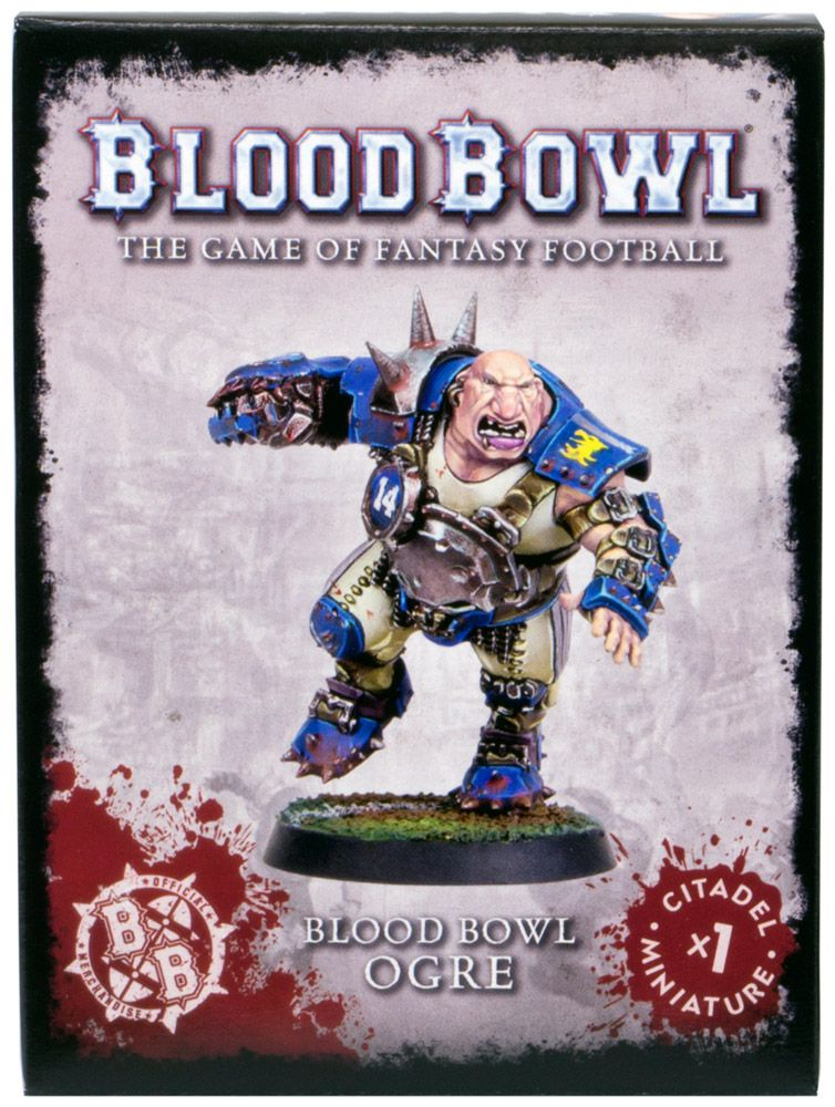 Набор миниатюр Warhammer Games Workshop(Blood Bowl Ogre)