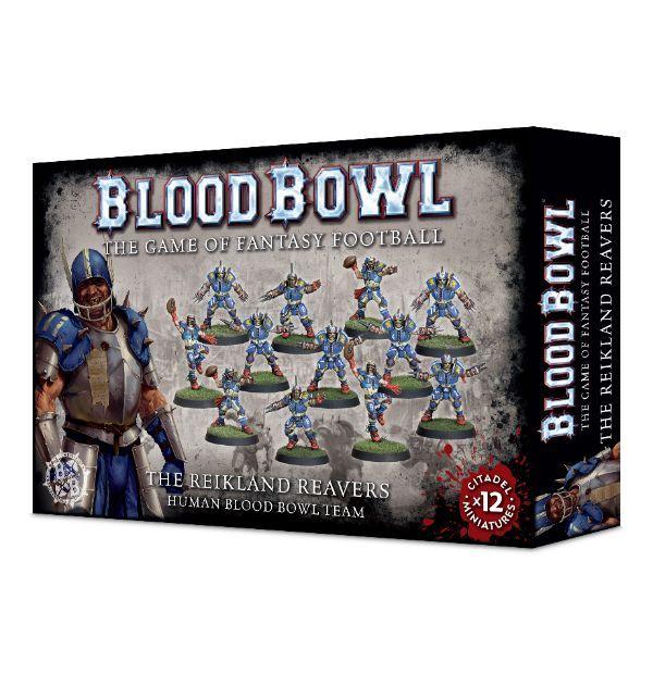 Набор миниатюр Warhammer Games Workshop(Blood Bowl: Reikland Reavers)