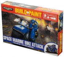 Набор красок: Build+Paint Space Marines Bike Attack