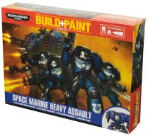 Build+Paint: Space Marines Heavy Assault