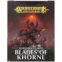 Warscroll Cards: Blades of Khorne 2017