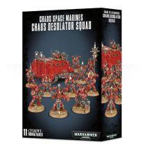 Chaos Space Marine Chaos Desolator Squad