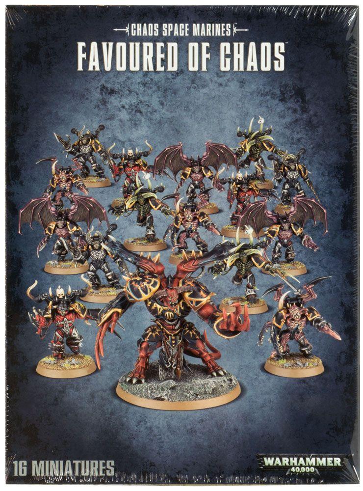 Купить Favoured of Chaos, Настольная игра Games Workshop