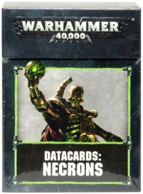 Datacards: Necrons 8th edition