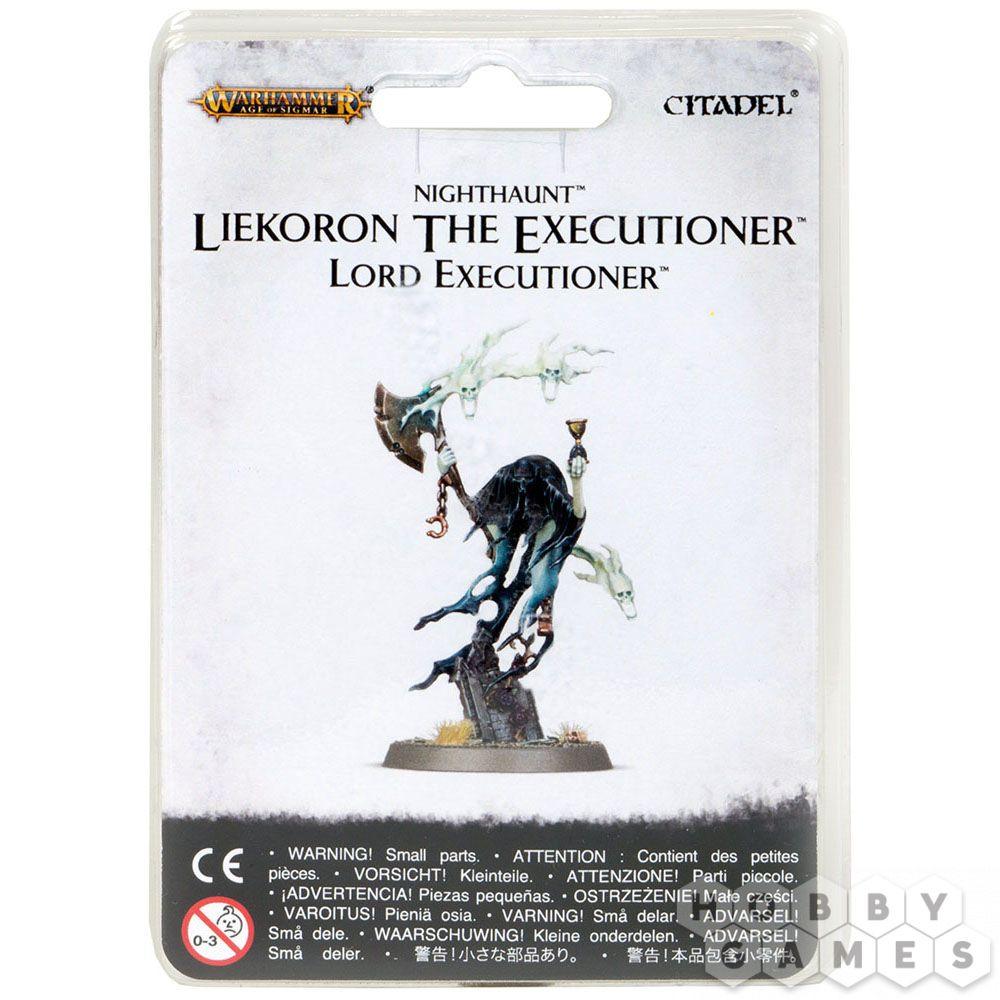 Nighthaunt Liekoron the Executioner Lord Executioner Warhammer Age of Sigmar