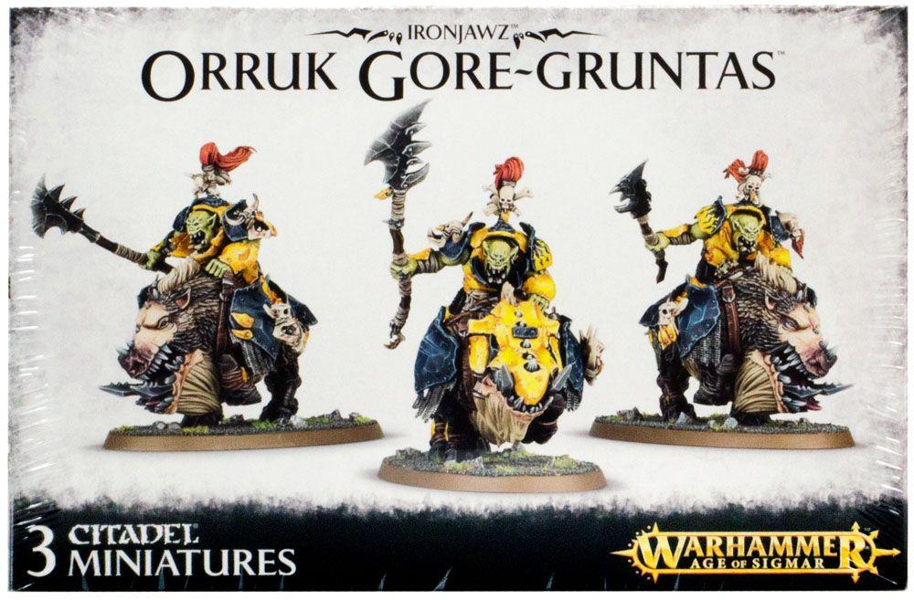 Ironjawz Orruk Gore-Gruntas, Настольная игра Games Workshop  - купить со скидкой