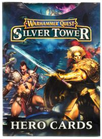 Silver Tower Hero Cards