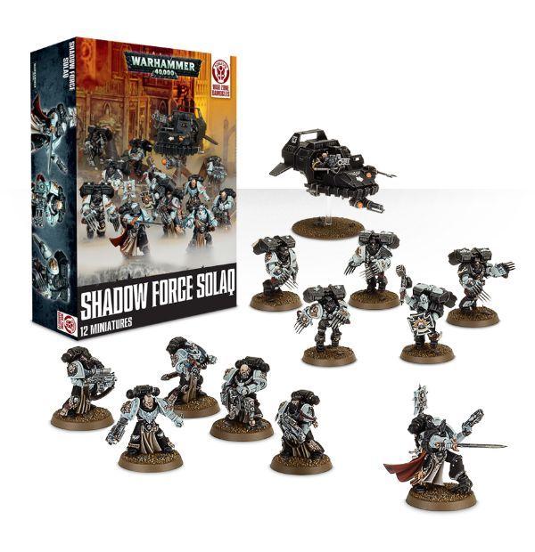 Купить Shadow Force Solaq, Настольная игра Games Workshop