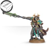 Necron Overlord with Warscythe