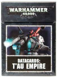 Datacards: T'au Empire 8th edition